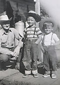 Circa 1951 Steve&John&Grandpa copy