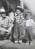 Circa 1951 Steve&John&Grandpa copy