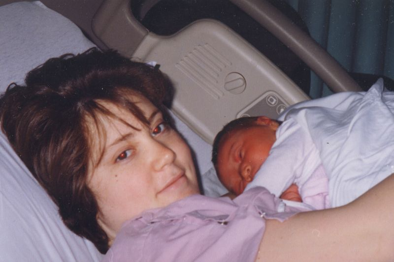 96 0306 Mommy and Brooke