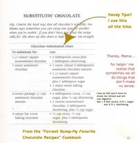 Substitutingchocolates